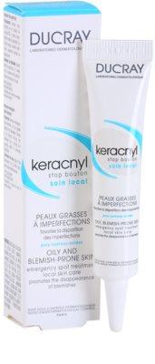 Ducray Keracnyl helyi ápolás a pattanásos bőr hibáira 1
