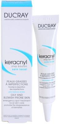 Ducray Keracnyl helyi ápolás a pattanásos bőr hibáira 2