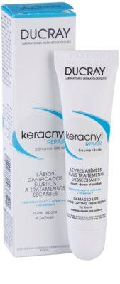 Ducray Keracnyl regeneračný balzam na pery pri liečbe akné 2