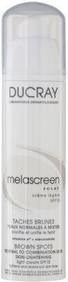 Ducray Melascreen creme de dia iluminador contra as manchas de pigmentação SPF 15