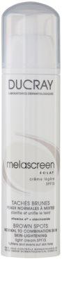 Ducray Melascreen Lekki krem na dzień przeciwko plam pigmentowych SPF 15