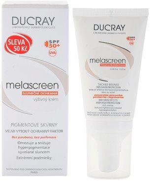Ducray Melascreen crema solara pentru tratarea petelor pigmentare SPF 50+ 1
