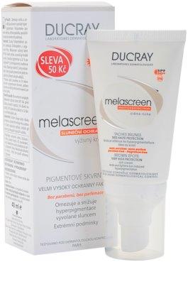 Ducray Melascreen crema solara pentru tratarea petelor pigmentare SPF 50+ 2