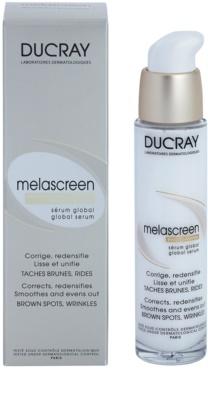 Ducray Melascreen vyhlazující sérum proti pigmentovýn skvrnám a vráskám 1