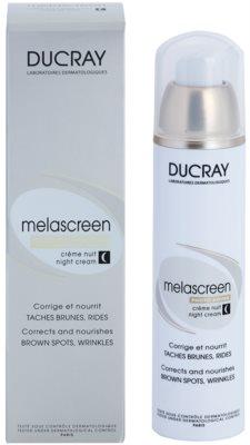 Ducray Melascreen noční výživný krém proti pigmentovýn skvrnám a vráskám 2