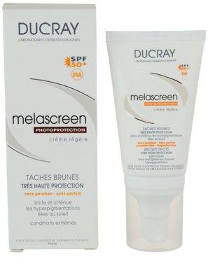 Ducray Melascreen lahka krema za sončenje proti pigmentnim madežem SPF 50+ 2