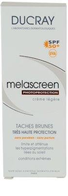 Ducray Melascreen lahka krema za sončenje proti pigmentnim madežem SPF 50+ 3