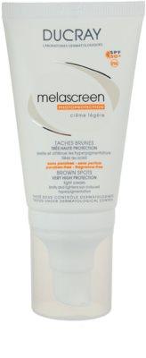 Ducray Melascreen crema solara light impotriva petelor pigmentare SPF 50+