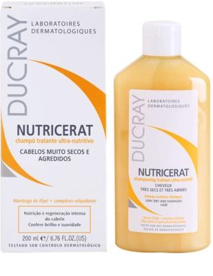 Ducray Nutricerat tápláló sampon száraz hajra 2