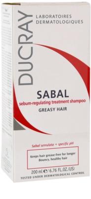Ducray Sabal champô para cabelo oleoso 2