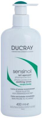 Ducray Sensinol nyugtató testápoló tej hidratáló hatással