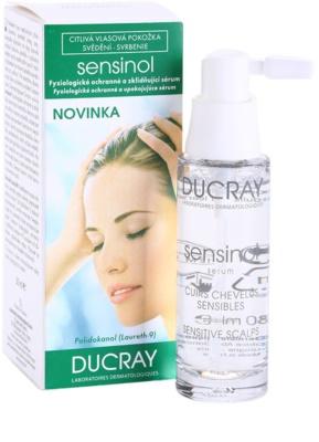 Ducray Sensinol fiziološki zaščitni in pomirjajoči serum 1
