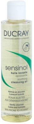 Ducray Sensinol заспокоююча олійка для душа зі зволожуючим ефектом
