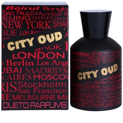 Dueto Parfums City Oud Eau de Parfum unissexo