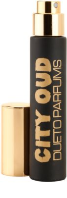 Dueto Parfums City Oud Travel Spray Eau De Parfum unisex 1