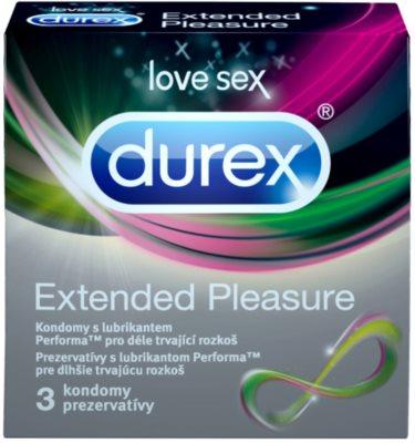 Durex Extended Pleasure Óvszer az elnyújtott izgalmakért