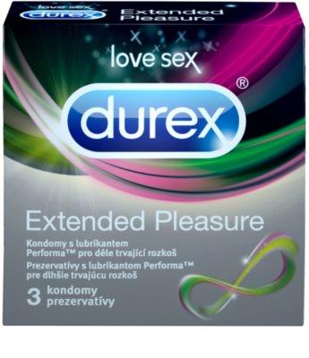 Durex Extended Pleasure preservativos para una sensación de excitación prolongada