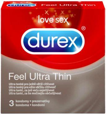 Durex Feel Ultra Thin extra tenké kondómy