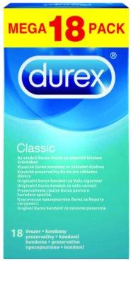 Durex Classic os preservativos são a base da confiança