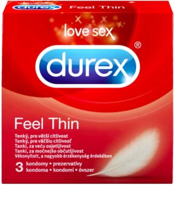 Durex Feel Thin dünnes Kondom für erhöhte Lust