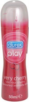 Durex Play Very Cherry gel lubrifiant cu aroma de cirese