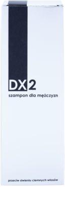 DX2 Men champô para cabelos grisalhos 2