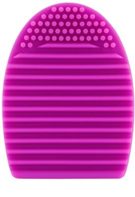 E style Brush Egg accesorio de silicona para limpiar brochas