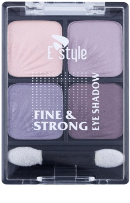 E style Fine & Strong сенки за очи  с апликатор 1