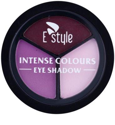 E style Intense Colours cienie do powiek 1