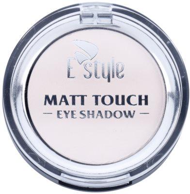 E style Matt Touch Matter Lidschatten 1