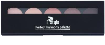 E style Perfect Harmony Palette палитра от сенки за очи с малко огледало 1