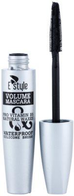 E style Volume Waterproof Mascara спирала за обем и сгъстяване на миглите