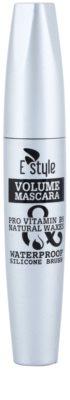 E style Volume Waterproof Mascara спирала за обем и сгъстяване на миглите 1