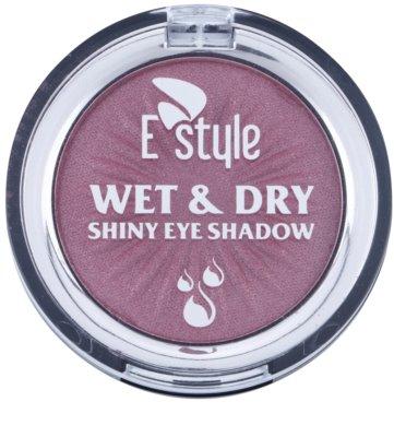 E style Wet & Dry sombra de ojos 1