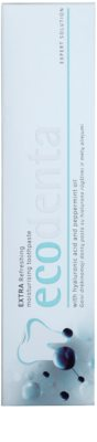 Ecodenta Extra frissítő és hidratáló fogkrém 2