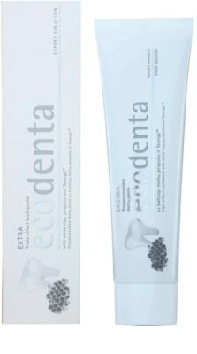 Ecodenta Extra zubní pasta s trojím účinkem 1