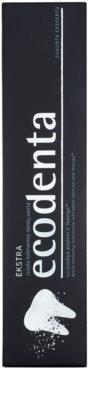 Ecodenta Extra czarna wybielająca pasta do zębów 2