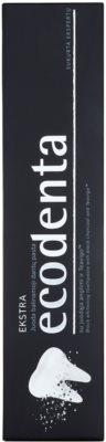 Ecodenta Extra čierna bieliaca zubná pasta 2