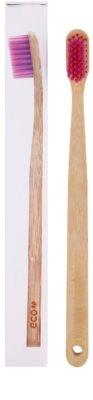 EcoHeart Eco bambuszos fogkefe gyenge 1