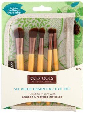 EcoTools Essential set de brochas para ojos 1