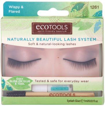 EcoTools Lashes künstliche Wimpern mit Bürste
