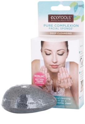 EcoTools Pure Complexion esponja de konjak para limpeza facial profunda
