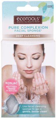 EcoTools Pure Complexion esponja de konjak para limpeza facial profunda 2