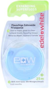 Edel+White Expanding Superfloss fio dental