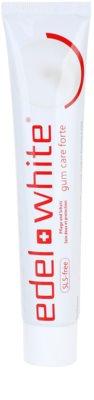 Edel+White Gum Care Forte dentífrico para dentes e gengivas saudáveis