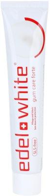 Edel+White Gum Care Forte pasta de dientes para dientes y encías sanos