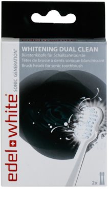 Edel+White Sonic Generation Whitening Dual Clean резервни глави за звукова четка за зъби 2 бр 2