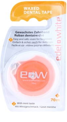 Edel+White Waxed Dental Tape zobni trak
