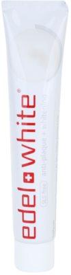 Edel+White Whitening fehérítő fogkrém plakk ellen