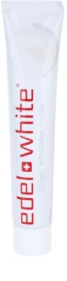 Edel+White Whitening pasta de dentes branqueadora antiplaca